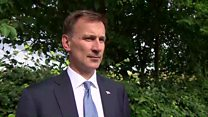 Foreign secretary says Iran wants to resolve crisis