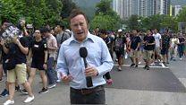 Hong Kong protests the 'new norm'