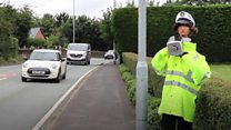 Scarecrow cop slows speeding drivers