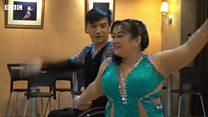 춤으로 결혼까지 성공한 휠체어댄스 커플