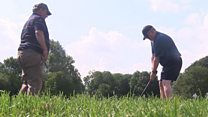'Blindness won't stop me playing golf'