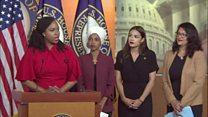 واکنش چهار نماینده کنگره آمریکا به توییتهای 'نژادپرستانه' ترامپ