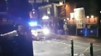 Unseen footage of the London Bridge attacks