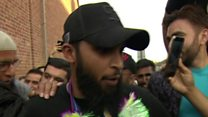 Cricket World Cup winner welcomed home