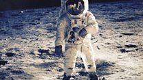 تاثیر تماشای قدم گذاشتن انسان بر ماه بر شاهدان