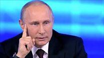 """""""Невбровь, авглаз"""": Путин и народная мудрость"""
