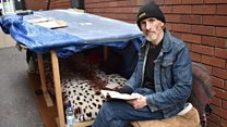 Man fined for begging gets council cleaning job