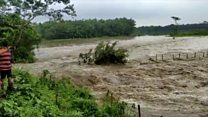 असम में बाढ़ का कहर