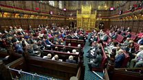 Lords cheer for Baroness Hayter
