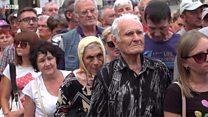 """Сепаратисти на мосту та """"нічия земля"""" в Станиці Луганській - репортаж"""