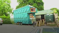 'Maybe it is strange to build a random tiny house'