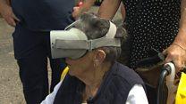 Woman, 84, goes underground to explore tin mine