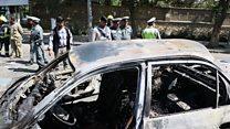انفجار انتحاری در مقابل دانشگاه کابل