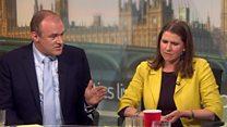 Davey: 'No prospect of Corbyn or Johnson coalition'