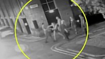 Appeal after teenagers attacked on night out