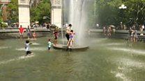 راهکار نیویورکی ها برای مقابله با موج گرما در داغ ترین ژوئیه هفت سال اخیر