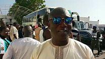L'ancien ministre Serigne Mbacké Ndiaye fait partie des milliers de supporters partis accueillir la sélection sénégalaise.