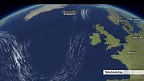 European heatwave jet stream 23 July 2019