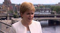 "Sturgeon:Johnson has ""no sense of principle"""