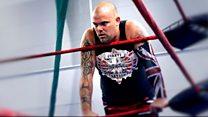 'Wrestling is my comfort blanket'
