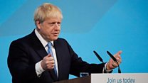 Johnson's first speech as Tory party leader - in full