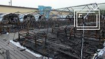 Пожар в Хабаровске: дети спасались сами