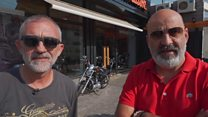 From rival fighters to side by side bikers