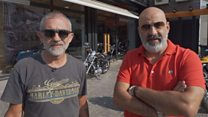 From rival fighters to side-by-side bikers