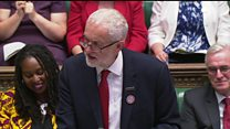 Corbyn praises - and criticises - Theresa May