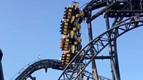 People left hanging mid-air as Alton Towers ride stops