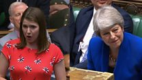 Swinson asks May for advice as fellow female leader