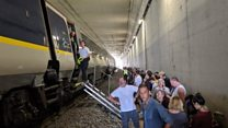 Heat wave misery for passengers as Eurostar train breaks down