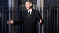 Rees-Mogg learns of new job from political editor
