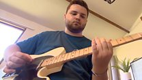 'My guitar helped me recover from a brain tumour'