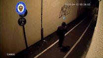 Schoolgirl's murderer captured on CCTV