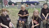 'I didn't have any friends in wheelchairs like me'