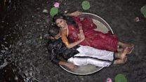'Queremos viralizar': a realidade por trás das glamorosas fotos 'fakes' de casamento nas redes
