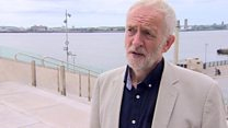 Johnson Brexit would put NHS in danger - Corbyn