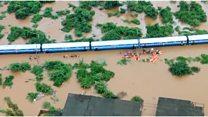 'Stuck overnight' on stranded train