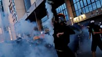 'Chaos' erupts in Hong Kong clashes