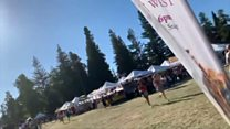 Gilroy festival-goers flee mass shooting