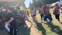 Three shot dead at US garlic festival