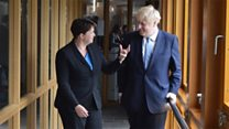 PM shares Ruth Davidson's wish for Brexit deal