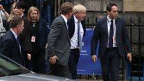 Emotions high as PM visits Edinburgh