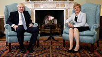 UK government's Brexit path 'dangerous' says Sturgeon