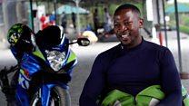 'I am a proud amputee biker'