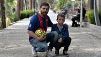 """""""Gukinana na Messi, ni indoto ibaye ukuri"""""""