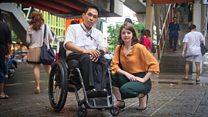 สาวอังกฤษผู้ต่อสู้ทวงสิทธิผู้พิการไทย