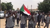 Sudan schoolchildren fired on during protest