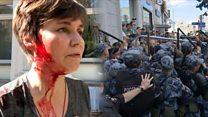 """""""Меня избили полицейские"""". Что участники митинга 27 июля хотят сказать тем, кто их бил"""